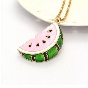 Jewelry - Crystal Watermelon Necklace